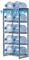 Стеллаж для воды на 10 баллонов Furnita